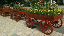 铁艺移动花车,水果花车,大型花灯花车