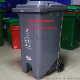 山東戶外垃圾桶街道環衛垃圾桶加厚PE料