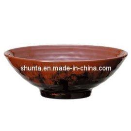 密胺宽口拉面碗(美耐皿/科学瓷)日式拉面碗