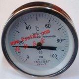 上海天川温度计 昆山圆盘指温度表 双金属温度计 空调机组温度表