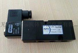气动执行器配件4V310-08/0.15-0.8MPA管接式电磁阀24V