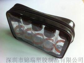 厂家低价批发精美车缝PVC袋 PVC化妆品袋 定制印刷LOGO 量大从优