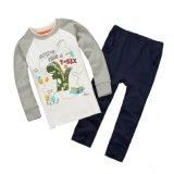 童装套 外贸品牌童装套装批发 欧美儿童纯棉长袖 两件套童T恤 男童秋款