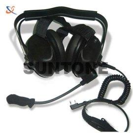 對講機頭戴降噪耳機 頭骨耳機