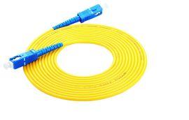 力天光纤跳线SC-SC单模单芯3米收发器尾纤网络光纤线