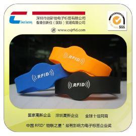 【新品促销】rfid人员识别腕带,医用腕带厂家,可定制