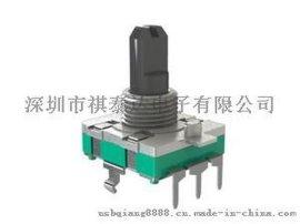 厂家直销EC16编码器,塑胶轴360度.旋转编码器,增量式编码器