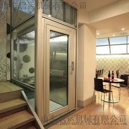 启运 厂家热卖家用小型电梯 二层三层别墅电梯 室内室外电梯 家用阁楼液压电梯