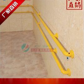 养老院走廊尼龙扶手厂家直供双排尼龙不锈钢扶手