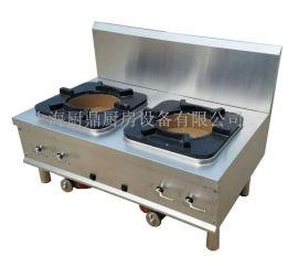 不锈钢燃气双头煲汤炉
