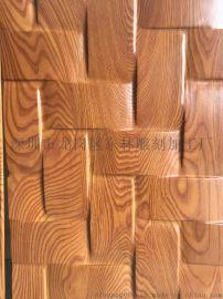 福建雕刻厂家专业定制新风尚板材免漆环保饰面波浪板