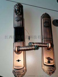 指纹锁家用防盗门锁智能电子锁密码锁刷卡锁微信大门锁
