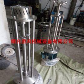 立式乳化机 高粘度均质乳化分散 高速分散机