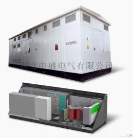 佔地面積小的預裝式充電站、易規劃的充電站