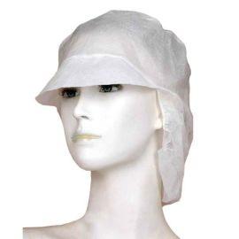 汉克一次性无纺布帽子 男/女防尘防护工作帽