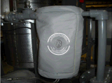 仪器设备的保温隔热热盾硅酸铝纤维保温套隔热耐高温