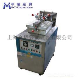 電氣土耳其烤肉爐,上海壓力炸鴨爐,饞嘴鴨電氣炸鴨爐,茶油鴨燃氣炸鴨機