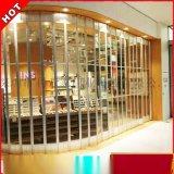 深圳利萬家 透明水晶側推摺疊門 鋁合金邊框 專業定製