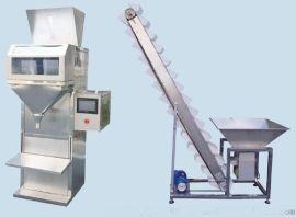 自动称量袋装饲料包装机 半自动颗粒包装机