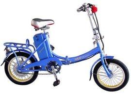 简易可折叠电动自行车