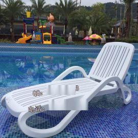 江苏水上乐园室内室外可用休闲折叠泳池躺椅舒纳和直供
