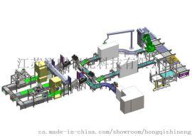 自动化流水生产线: