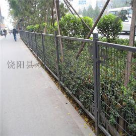 景区园林护栏围栏定款 异型铁丝网围栏厂