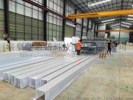玻璃钢水槽生产线 玻璃钢天沟生产线 FRP水槽设备 FRP天沟设备 FRP水槽生产线