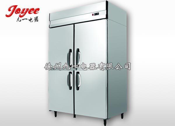 厨房冰箱 四门冷柜 冷冻柜小吃店冰箱 商用冰箱