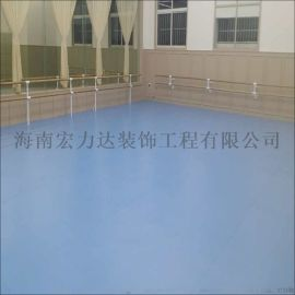 PVC运动地板,PVC塑料地板,海南宏利达专注地坪