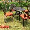 舒纳和专注户外铸铝椅子配大理石桌面 时尚耐用美观
