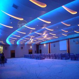 PVDF膜材料厂家批发法拉利A级软膜天花室内装饰软膜吊顶灯箱膜