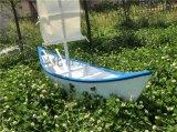 江西欧式木船厂家 两头尖装饰木船 户外景观帆船