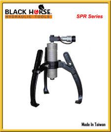 原装台湾BLACK-HORSE分离式卡盘液压拉马
