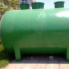 三瓮化粪池 玻璃钢污水处理化粪池 达标化粪池可定制