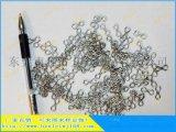 廠家大量生產304不鏽鋼異形彈簧 漁具8字扣線成型彈簧 加工定制