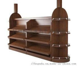 杭州实木烤漆展示柜厂家|中岛柜|板式陈列柜定做