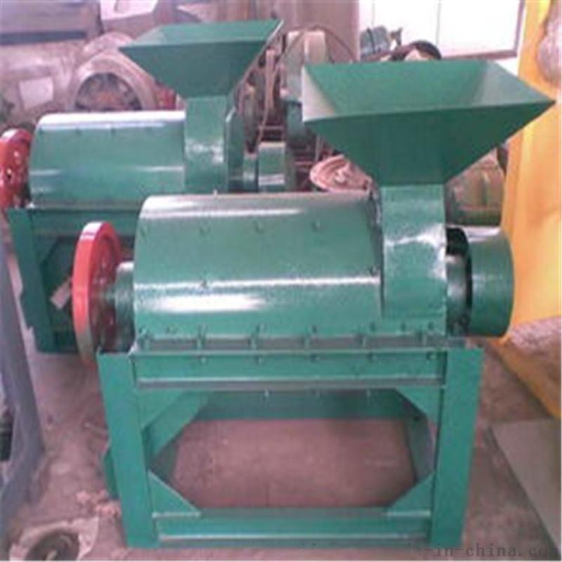 糖渣药渣半湿物料粉碎机 双击发酵秸秆粉碎机