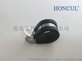 金属包塑管夹北京