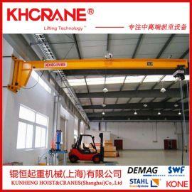 苏州墙壁式悬臂吊 车间生产线专用旋臂吊