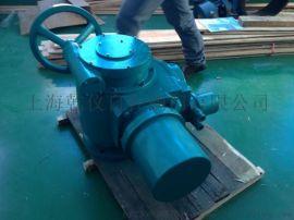 上海乾仪DZW90T-24多回转推力型可调节电动执行器价格