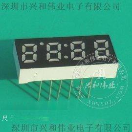 4位数码管 0.25英寸四位LED数码管 家用电器4个8数码屏