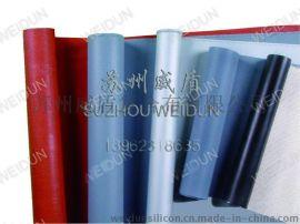 黑色硅胶玻纤布,高温硅胶防火布加工生产厂家