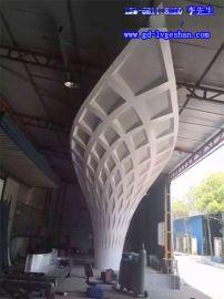 乌海异形铝板 墙面双曲铝单板 造型铝单板厂家