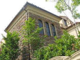建筑屋檐落水系统金属方形雨水管