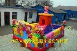 周口项城中小型儿童充气城堡爆款猪猪侠乐园蹦床滑梯