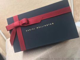 深蓝色高品质定制dw手表原盒手镯原盒套盒手提袋
