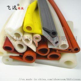 专业生产P型硅胶密封条 耐高温烤箱环保硅胶密封条
