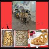 薯饼裹糠机 隧道薯饼裹屑机 自动薯饼裹涂机