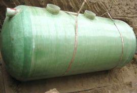 波纹化粪池 玻璃钢16方化粪池 预制消防水池安装